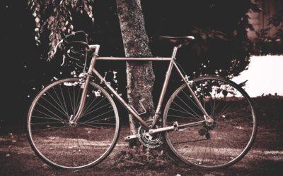 Hoe sterk is de eenzame fietser!